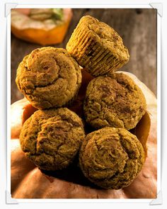 Pumpkin Pie Muffins from Sweet Debbie's Organic Treats