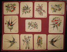 Traditional Tattoo Flowers, Traditional Tattoo Design, Amund Dietzel, Antique Tattoo, Bert Grimm, Vintage Tattoo Design, Baby Tattoos, Flash Tattoos, Tatoos