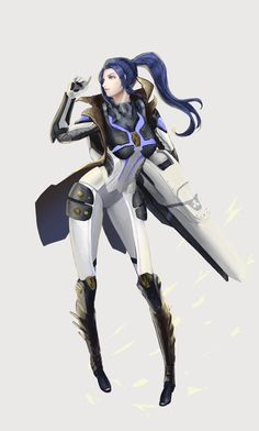 Pulsefire Caitlyn by 에리티아 HD Wallpaper Background Fan Art Artwork League of Legends lol