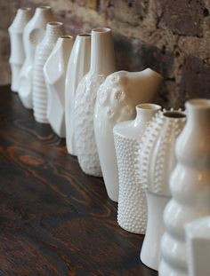 A collection of tactile ceramic vases by local artist Ikuko Iwamoto, selected and sold at Elemental ( soon online ). Please contac...