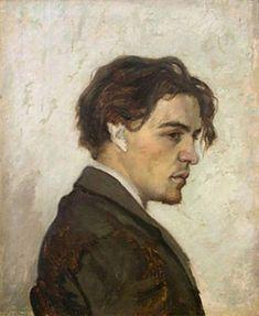 Retrato de Antón Chéjov realizado por su hermano Nikolái Chéjov