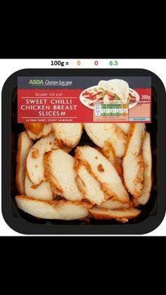 Free on EE Slimming World Free Foods, Sweet Chilli, Hot Dog Buns, Asda, Chicken, Eat, Breakfast, Morning Coffee, Morning Breakfast