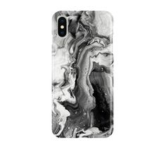 White & Black Marble Case - iPhone 12 Pro, Galaxy S20 Plus, Note 20 Ultra, Google Pixel 5, iPhone 11, Galaxy S10, Google Pixel 4a, Note 10
