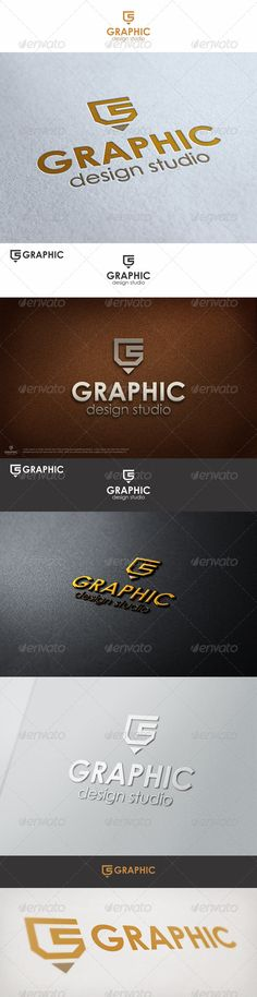Graphic Pencil Studio Logo G — Vector EPS #minimal #creative design • Available here → https://graphicriver.net/item/graphic-pencil-studio-logo-g/6903226?ref=pxcr