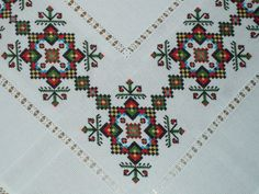 This Pin was discovered by Neş Cross Stitch Needles, Cross Stitch Art, Cross Stitch Borders, Cross Stitch Designs, Cross Stitching, Cross Stitch Patterns, Folk Embroidery, Embroidery Patterns Free, Modern Embroidery