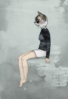 cat woman: sandra dieckmann.