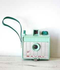 Vintage Mint Green Imperial Savoy Camera by GallymoggerOddities, $76.00