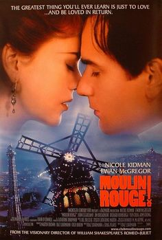 Moulin Rouge Movie Poster - Ewan is not only great to look at but great to listen to his singing