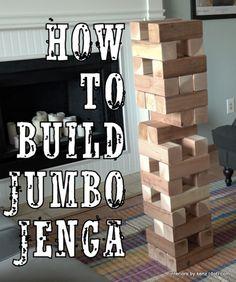 2x4 jenga how to make
