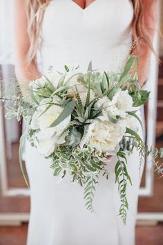 desert inspired bouquet - photo by Marble Rye Photography http://ruffledblog.com/desert-dance-party-wedding-in-ojai