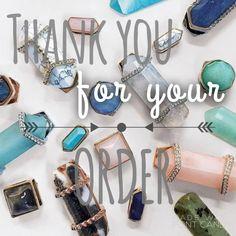 Keep collective thank you for your order photo Facebook social media marketing