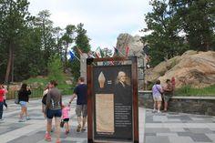 Ice Cream at Mt Rushmore - courtesy of Thomas Jefferson?