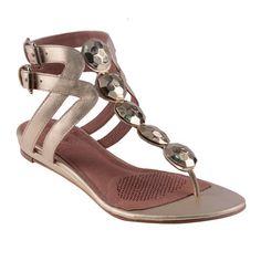 Dazzle Sandal Platinum