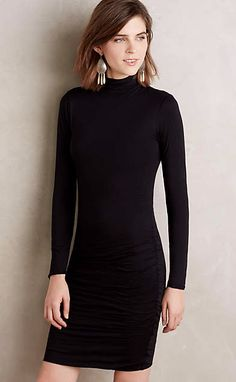 Adair Turtleneck Dress #anthrofave