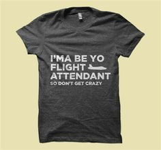 Merch Method: Anjelah Johnson - Flight Attendant - Unisex Tee!