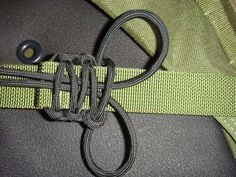 """""""paracord over an existing strap"""" - oh, that is cool.  It's a cobra weave based around a strap.  Very slick."""