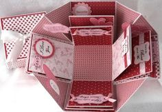 Raspberry Blossoms/PaperArt Creations Blog: Valentine Explosion Box