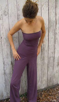 sexy hemp pantsuit