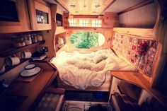 When we retire we will travel the world, this camper is similar to what I want cozy like home since I'm a homebody