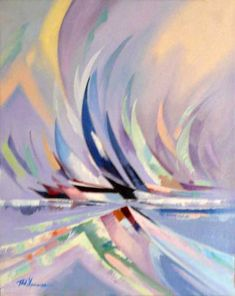 Wind - Giclee on Canvas