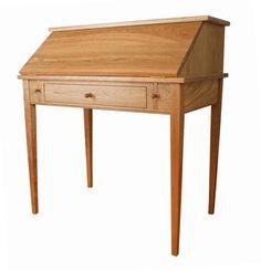 Shaker style slant desk