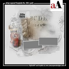 Artsy Layered Template No. 265 Released 02 March 2018 by #annaaspnes of #aA designs #annaaspnes #digitalart #digitalartist #digitalartistry #digitalcollage #collage #digitalphotography #photocollage #art #design #artjournaling #digital #digital #scrapbooking #digitalscrapbooking #scrapbook #modernart #memorykeeping #photoshop #photoshopelements
