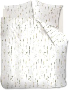 Marjolein Bastin Secale - Dekbedovertrek - Lits-jumeaux - 240x200/220 cm - Natural Embroidered Bedding, Marjolein Bastin, Bed Sheets, Curtains, Blanket, Home Decor, Twin Cribs, Blinds, Decoration Home