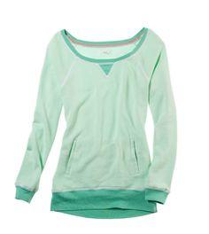 Aerie Colorblock Sweatshirt