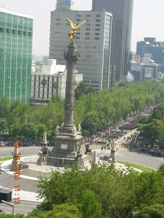 Mexico City, Mexico  This is my favorite local spot because:  IT IS THE BEST KNOWN MONUMENT REPRESENTING MEXICO CITY SURROUNDED BY SOME OF THE BEST HOTELS AND RESTAURANTS IN TOWN AND IN THE MAIN AVENUE, PASEO DE LA REFORMA