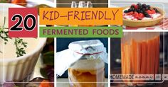 tons of recipes. Fermented foods are important for everyone to eat, so how do we make kid-friendly fermented foods that your kids will truly learn to love? Can Sour Fermented . Probiotic Foods, Fermented Foods, Raw Food Recipes, Healthy Recipes, Simple Recipes, Healthy Salads, Diet Recipes, Dessert, Food Hacks
