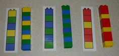 Learning Activities with Legos.... Sequencing and patterning help support pre-reading and math!