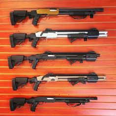 Mossberg 590 shotguns