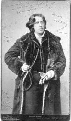 Oscar Wilde by Napoleón Sarony