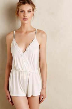 Flora Nikrooz Carmen Romper - anthropologie.com #anthrofave