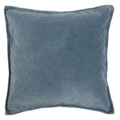 Cushion velvet colonial blue 50x50cm