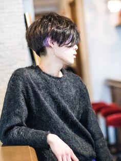 外国人風イルミナブルージュ☆/Premier Models by streeters 中野店【プレミア モデルズ バイ ストリーターズ】 をご紹介。2018年春の最新ヘアスタイルを300万点以上掲載!ミディアム、ショート、ボブなど豊富な条件でヘアスタイル・髪型・アレンジをチェック。 Tomboy Hairstyles, Cool Hairstyles, Short Hair Cuts, Short Hair Styles, Corte Y Color, Hair Designs, Blue Hair, Hair Inspo, Pretty People
