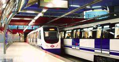 METRO MADRID:Trenes de la serie 3000 rán a la línea 5, en Ventura Rodríguez. Foto: Benedicto16.