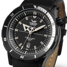 Reloj Vostok 5104142 Automático Anchar Negro « Relojesactuales