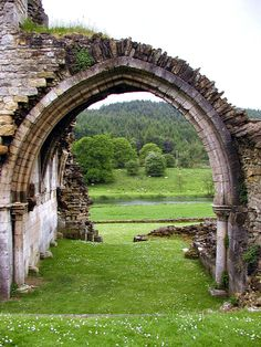 Ruins of Kirkham Priory    Kirkham, England