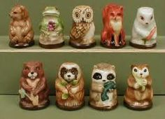 cute animal thimbles