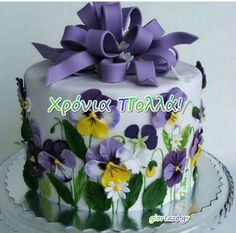 giortazo.gr: Χρόνια Πολλά  ..giortazo.gr Psychology, Thoughts, Birthday, Cake, Inspiration, Psicologia, Biblical Inspiration, Birthdays, Food Cakes