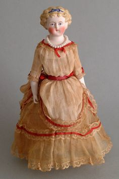 Antique Doll Candy Container