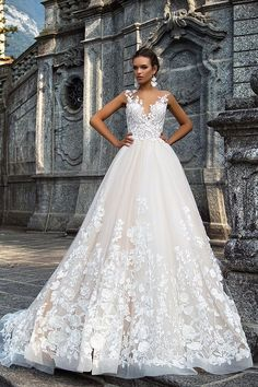 Milla Nova Bridal Wedding Dresses 2017 / http://www.himisspuff.com/milla-nova-bridal-2017-wedding-dresses/28/