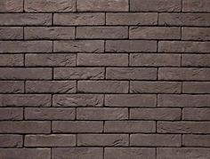 Donkergrijze steenstrip - Leto   Vandersanden Bricks