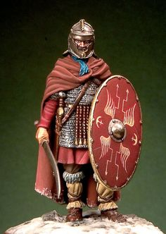 Roman auxiliary soldier - End of II Century A.C.