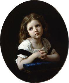 William-Adolphe Bouguereau (1825-1905) - The Prayer (1865) - ウィリアム・アドルフ・ブグロー - Wikipedia