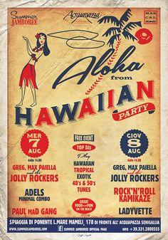 Hawaiian Party - Summer Jamboree 2013