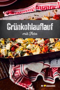 Grünkohlauflauf - Famous Last Words Go Veggie, Veggie Recipes, Low Carb Recipes, Healthy Recipes, Yams, Healthy Lifestyle, Good Food, Food And Drink, Veggies