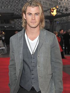 Chris Hemsworth...Of course every dream house should come with a dream husband!!