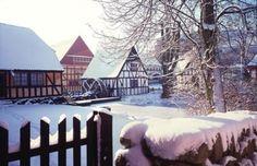 The Best Museums in Denmark: Old Town Aarhus in Winter